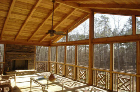 A Atlanta GA Screened Porch Does Much More Than Just Add Value To Your  Home. Use Your Atlanta GA Screen Room For Added Living Space; Enclose A  Pool, ...