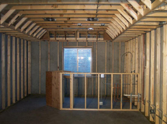 How To Add A Basement Shower Without Breaking Concrete Bathroom